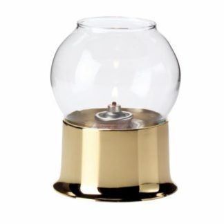 Hollowick Cocktail guld/Bubble Glass Globe, klar